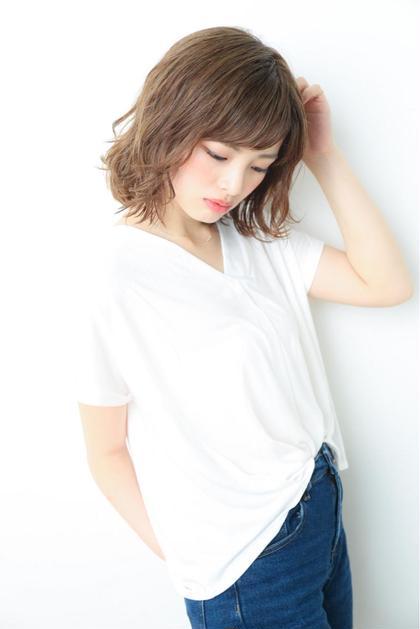 外ハネ×イルミナカラー seed  hair make所属・🌟夏カラーはお任せ藤倉龍太郎のスタイル
