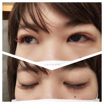 cカール☪ライトブラウン×ピンク equri eyelash所属・羽生優希のフォト