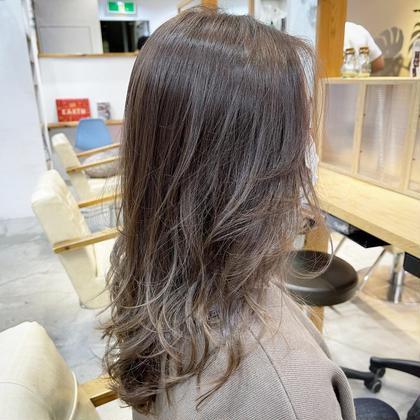 カット+カラー+髪質改善超音波トリートメント