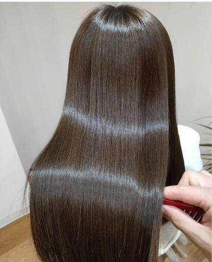 「髪質改善」👩🦳オーダーメイド縮毛矯正+髪質改善 プレミアムコース