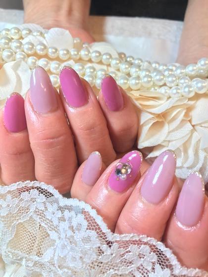pink nail☆ illumycrea所属・小島由貴のフォト