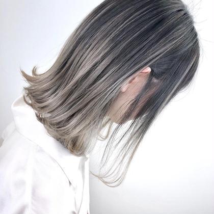 カット+バレイヤージュ +豪華5行程Aujuaトリートメント★13500円