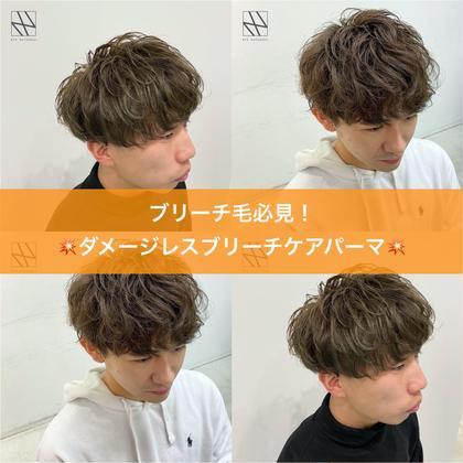 🚨⚠️ブリーチ毛必見⚠️🚨ブリーチケアパーマ+似合わせ束感カット+高保湿4STEP髪質改善トリートメント🌿