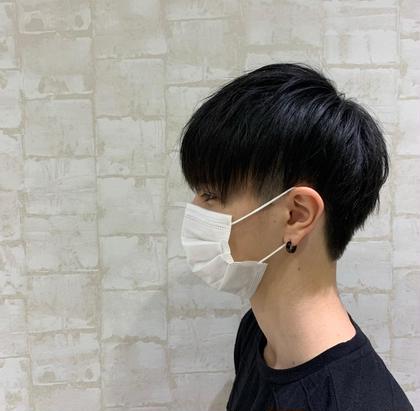 メンズカット+前髪縮毛💫🙋🏻♂️