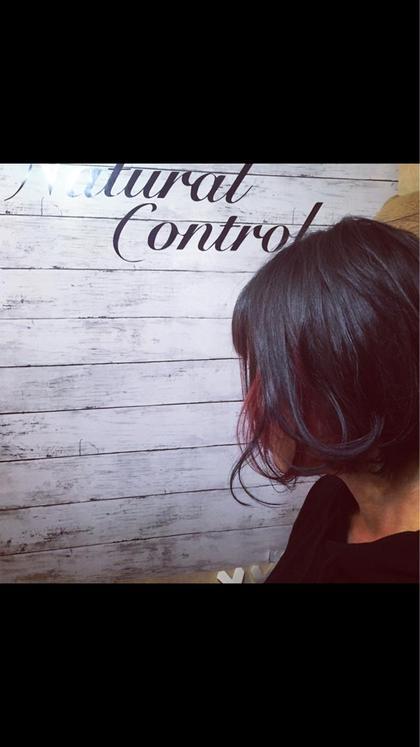 インナーカラーで可愛いを主張 Natural  Control所属・ササガワカオルのスタイル