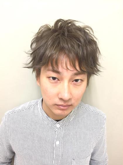 《🙋♂️メンズだけ❗️新規限定50%offクーポン》悩み解消カット➕シャンプーくせ毛、多毛方おすすめ!