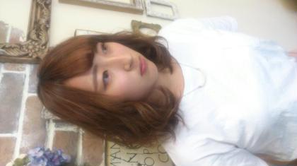 カットして巻かせて頂きました♪ ストレートも良かったけど ゆるふわスタイルも素敵です(*^^*) lilas crown所属・小森田智子のスタイル