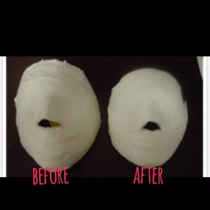 石膏パックは美白効果やお顔引き締め効果もあります✨ 和温所属・田中なつみのフォト
