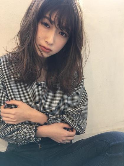 透明感抜群カラー☆ Mariabyafloat所属・太田有哉のスタイル