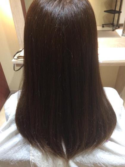 ナチュラルブラウン(白髪染めです!) Hair&Beauty  theB所属・山田香織のスタイル