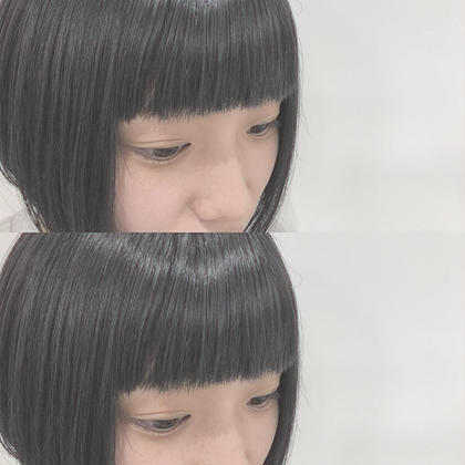 💕前髪の縮毛矯正💕+💕前髪カット💕