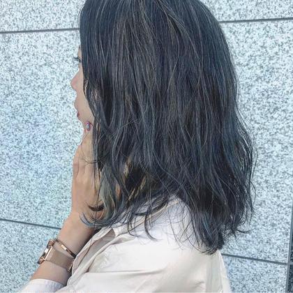 【🎨赤味消し透明感🎨】アディクシーカラー +2stepナノスチームトリートメント