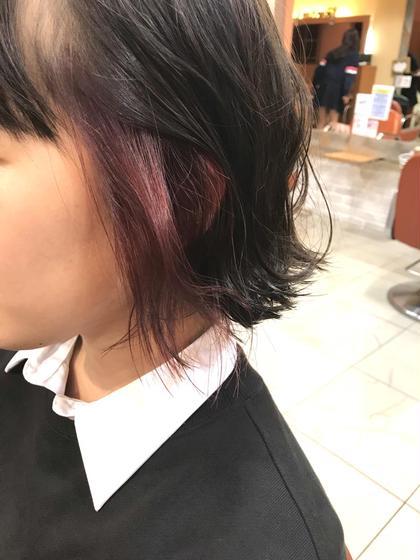 【🏅オススメ🏅】20%OFF💫🌈インナーブリーチ+透明感うる艶インナーヘアカラー +トリートメント❣️