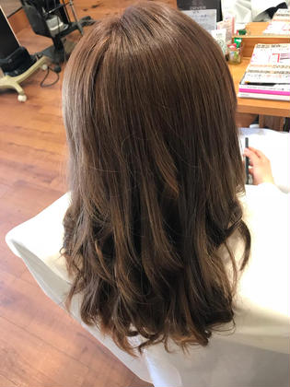 💎カラーをしてTOKIOでサラサラな髪へ💎 ❤︎艶カラー➕TOKIOトリートメント➕毛先枝毛カット