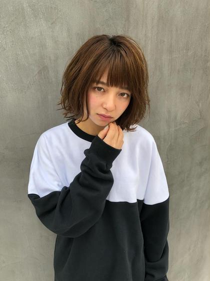 【初回】🏝似合わせ小顔カット🏝透明感カラー🌈 TOKIOトリートメント