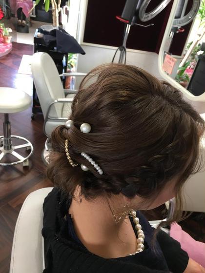 ボブ…… ノンパーマ! 飾りはレンタルありです! Instagram多数掲載中〜♬ hairstylesevenで検索↖ hair style SEVEN所属・寒河江祐綺のスタイル