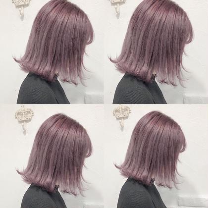 カラー ショート lavender