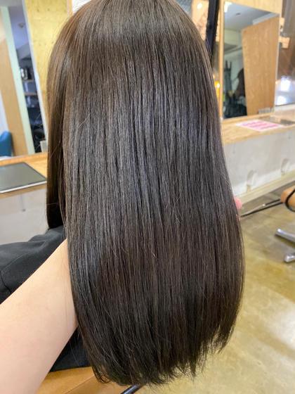 🌟髪質改善🌟【広がり、ボリューム抑えたい方必見👀】チューニングケア&カット&フローディアマスクトリートメント