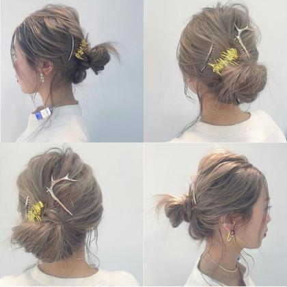 外国人風ハイトーンカラー Hair-salon&BeautyLOA【ロア】所属・itoasamiのスタイル
