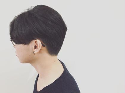 素敵なお客様PHOTO  17時以降men'sカット0円クーポン  モデルとしてやらせていただきました。 最後はトップスタイリストがチェックしてくださるのでご安心してご予約おまちしております(^○^) てんまさやかのメンズヘアスタイル・髪型
