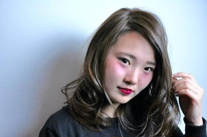 romohair所属・田中一嘉のスタイル