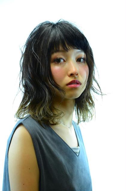 ツヤ感と透明感を出してナチュラルに仕上げてます。 shampooboy flap所属・岩田悠のスタイル