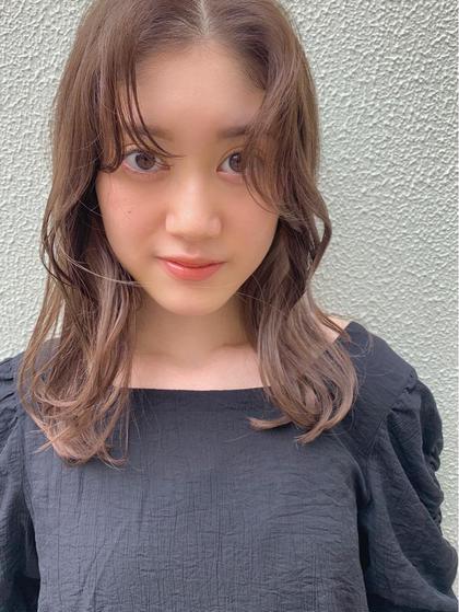 💎カット+イルミナ《艶・透明感》カラー+【毛髪140%回復】TOKIOトリートメント