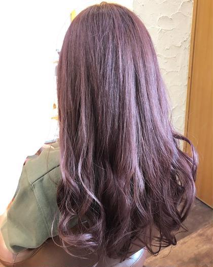 ピンクでもない!紫でもない! そんな絶妙な我儘カラー\(^^)/   ブリーチとケアは必須ですが とっても可愛いのでダブルカラーオススメです♪  Dejave hair&space西千葉店所属・鶴岡七海のスタイル