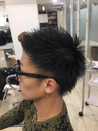 黒髮短髪 HAIR DELIGHT所属・西村あきやのスタイル
