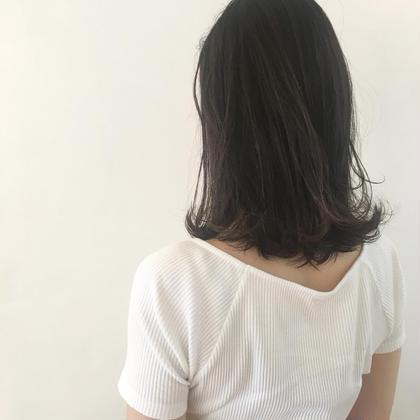 "new open♡1日3名様限定""®️treatment""を使用したワンランク上のダメージレスカラー♡"