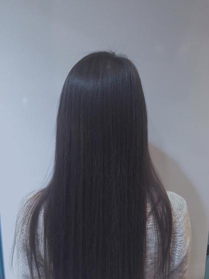 お洒落なダークブラウン×トリートメント♡ Doll hair所属・中川美言のスタイル