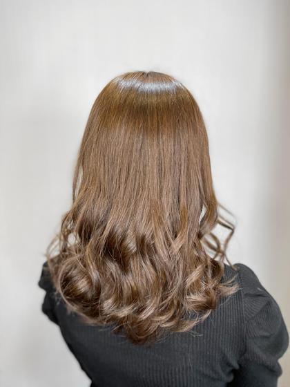 💛前髪カット+カラー+TOKIO TR💛