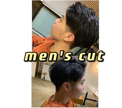 【✨期間限定✨特別クーポン💭】men's cut ✂︎   ¥3.800→¥500 💫