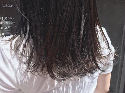 グレーの裾カラー(*^◯^*)