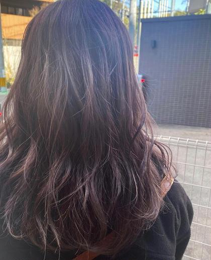 艶髪カラー+スペシャルトリートメント(メンテナンスカット有り)
