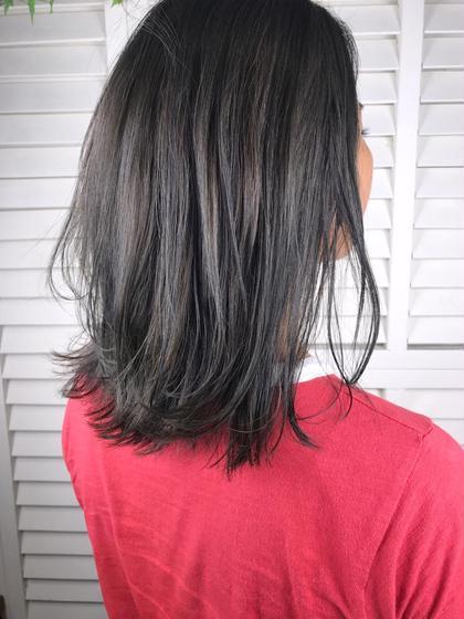 その他 カラー パーマ ヘアアレンジ ミディアム Real salon work💈 【 bob / dark olive ash 】 . オーダーの多いブリーチなし⭕️ がっつりアッシュな暗髪カラー✔️ 『 暗めで透明感ある感じで 』 . そんな時はコレですね💁🏻♀️ . 暗め透明感と色持ちさせたい時は5〜7トーンくらいがオススメ👌🏻 . アッシュ、オリーブ、ブルーの 鉄板ダークトーン🛠 . 赤味(オレンジ味)の強さや髪質、状態によってブレンド調整します👌🏻 . そろそろ暗めカラー増えてきました! シンプルなカラーでもイイ感じにします👍🏻 仲井にお任せを☺︎☺︎☺︎ . . #NAKAIstyle #ボブ#ブリーチなし#オリーブアッシュ