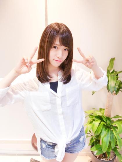 セミロング AKB48 市川愛美様