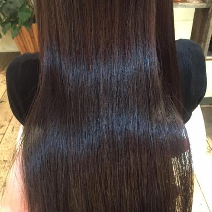 Oggiottoトリートメントの仕上がりです✨髪が柔らかくツヤツヤになります! Raw  hair design所属・クニエダエリコのスタイル