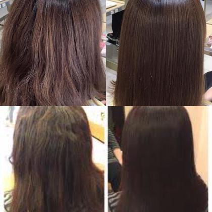 髪に艶がなく、クセでお悩みの方‼︎ アイロン操作が入りますので 質感、手触り、だいぶ変わりますよ*  ⚠︎ブリーチ毛のモデルさんは カウンセリングにて施術をお断りする 場合がございます。 ご了承ください。 OguchiYukiのパーマ
