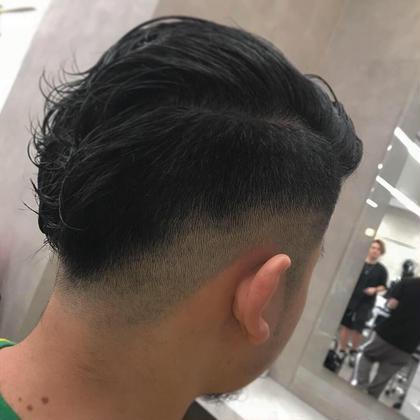 漢フェード💈 バリカンで直剃りからのフェードです!! barberstyleお任せ下さい👌🏼 united🇫🇷ko-ichi💈のメンズヘアスタイル・髪型