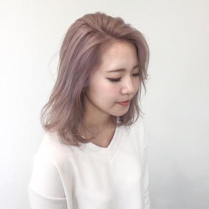 カラー オフピンク