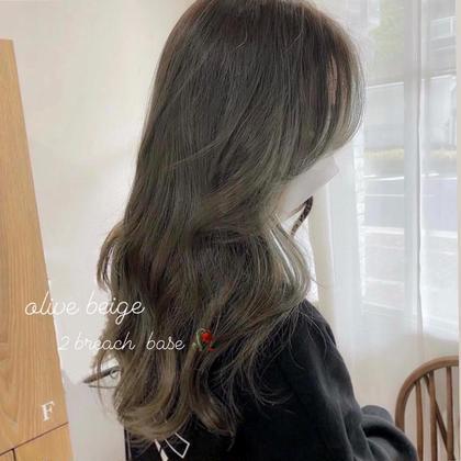🌹✨韓国風デザインカット&艶髪カラー&トリートメント🌹✨