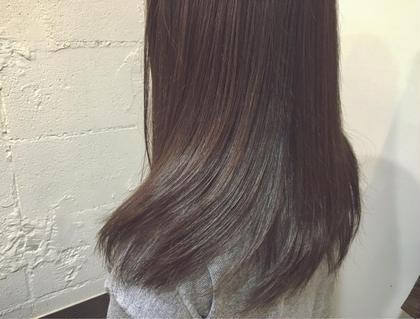 ストレートなキレイめロングにツヤカラーでさらにグレードアップ! kokoro hairsalon所属・野村春菜のスタイル