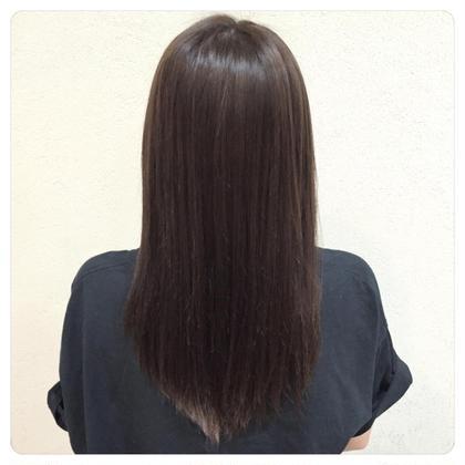髪質調整ストレート✂︎ Hair Resort THE AMAN GIRL所属・オグラタカヒロのスタイル