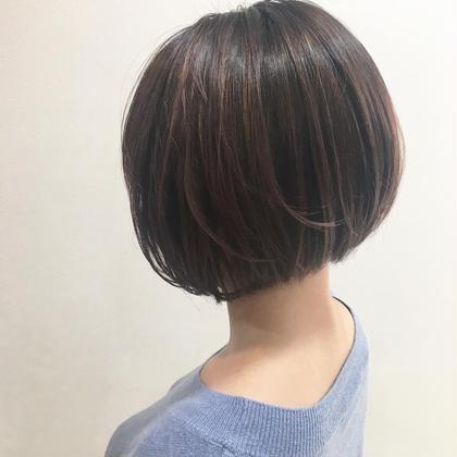 ミニボブ 首がスッキリして細く見えます! ブロッサム池袋店所属・藤田大基のスタイル