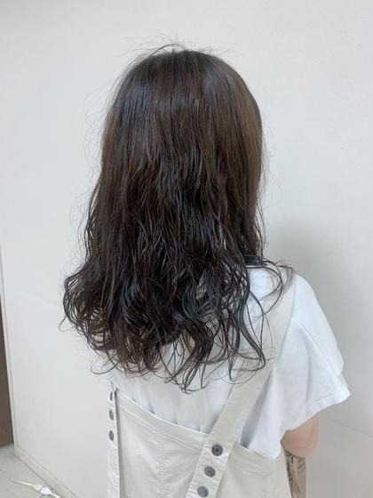 【☆朝ラクパーマ☆】巻き髪風パーマ+1stepトリートメント