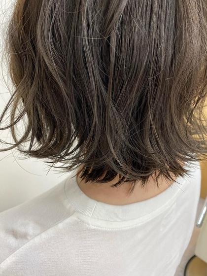 ◾️【人気No.1🏅】カット+透け感カラー🌿