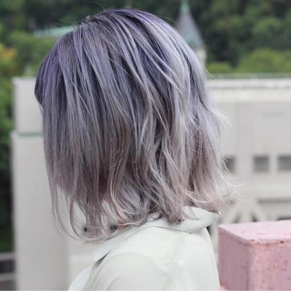 【2021年新卒生平日限定】ケアブリーチ+透明感カラー+3ステップトリートメント