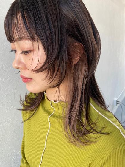 💖似合わせ前髪カット💖+集中補修トリートメント💖コテ巻き仕上げ💖✨✨✨✨