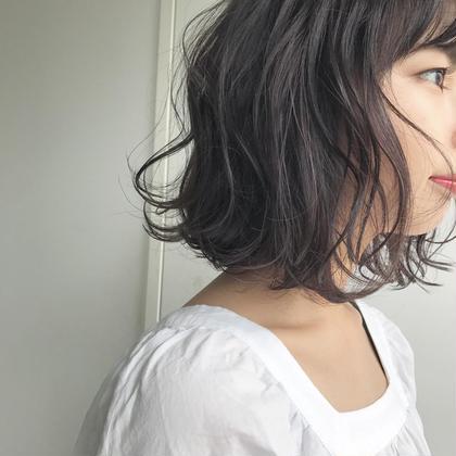ラベンダーアッシュカラー✨✨✨✨✨✨ 石橋美香のヘアカラーカタログ